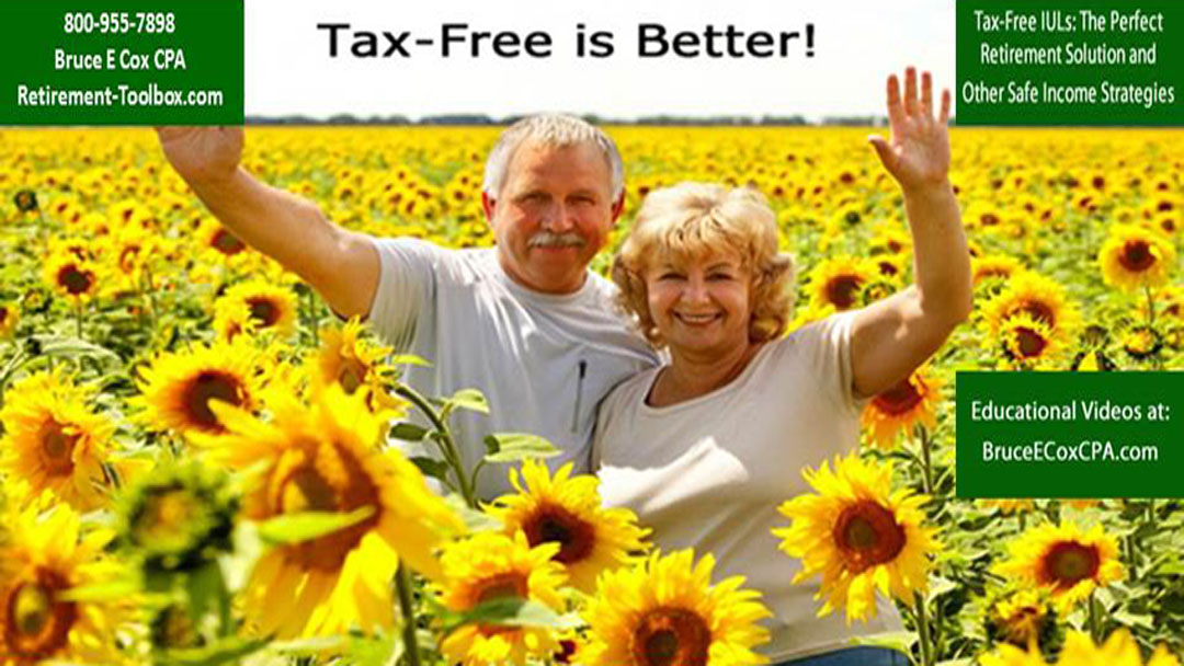 Eliminate stock market losses and retirement taxes with a tax-free pension alternative