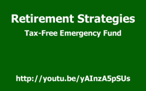Living Benefit Life Insurance, the tax free IUL is flexible enough to double as your tax free emergency fund.