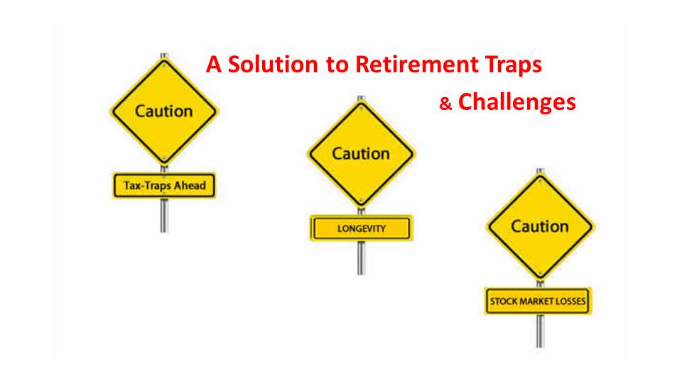 Top Retirement Challenges:  Taxes, Longevity and Stock Market Losses.  Will You Run Out of Money?